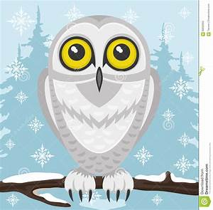 Snowy Owl. Stock Vector - Image: 58332652