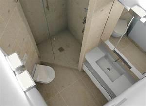 Kleines Bad Dusche : minibad mit dusche wc und waschplatz badezimmer pinterest badezimmer bad und baden ~ Markanthonyermac.com Haus und Dekorationen