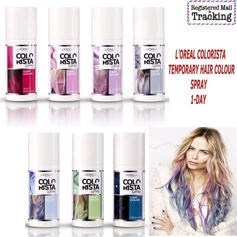 spray colors loreal colorista temporary hair colour spray 1 day