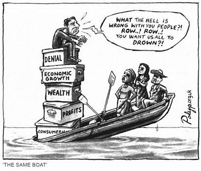 Economic Oil Cartoon Growth Threat Rising Recovery