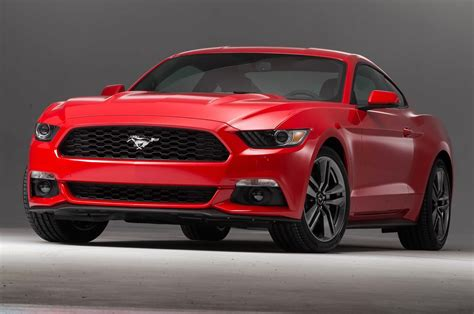 2015 Ford Mustang 2.3l Ecoboost Manual, Has