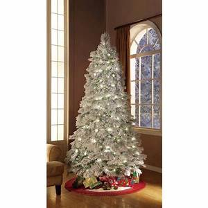 Holiday Time Artificial Christmas Trees Pre Lit 7 5