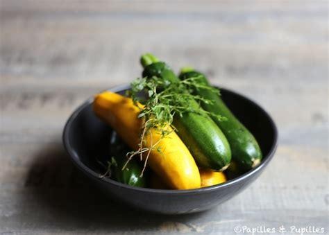 cuisiner courgette jaune filets de dorades tagliatelles de courgette jaunes et vertes