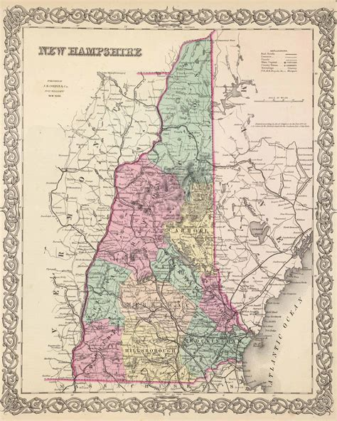 Map Of Northern Massachusetts And Southern New Hampshire