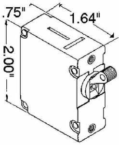 ancor circuit breaker 30 amp std black 551530 mystic With add circuit breaker