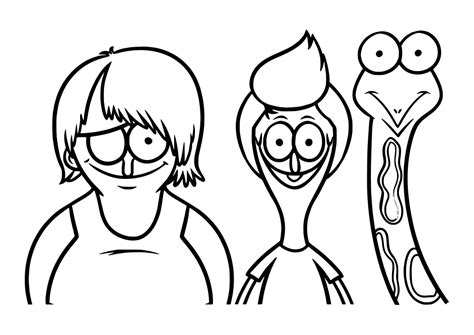 Broodschappers Kleurplaat by Sanjay And Craig Coloring Pages Sketch Coloring Page