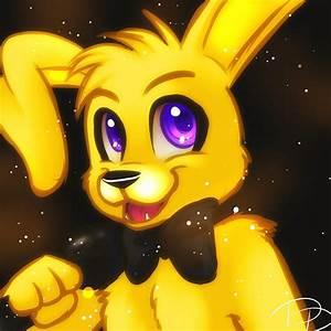 Golden Bonnie by Jacky-Bunny on DeviantArt