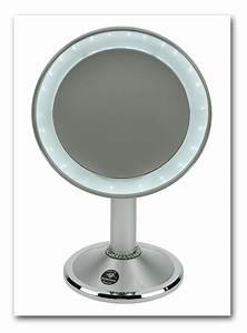 Kosmetikspiegel Mit Led Beleuchtung Und Vergrößerung : casa pura kosmetikspiegel mit led beleuchtung 3 hohe vergr erungsgrade w hlbar 10 fach ~ Sanjose-hotels-ca.com Haus und Dekorationen