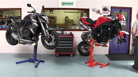 Motorcycle Workshop Lifts Safe, Strong, Reliable