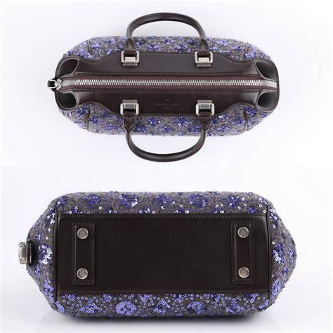 louis vuitton aw  violet monogram sunshine express baby handbag purse   sale  stdibs