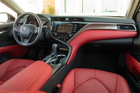 toyota camry interior 2018 toyota camry test review big improvement but