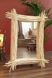 Designer Wandspiegel Groß : wandspiegel holzrahmen 131x118 massiv holz ste glas teak wei ~ Orissabook.com Haus und Dekorationen