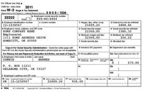 irs releases new w 2 form for 2011