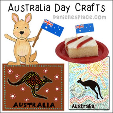 crafts for from danielle s place of crafts and activities 818 | australia day crafts