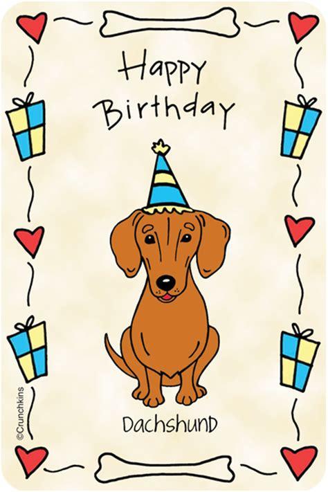 dachshund happy birthday dachshund shop  breed