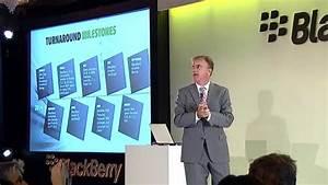 BlackBerry Passport Launch, London - Marty Beard discusses ...