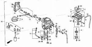 Honda 300ex Parts Diagram
