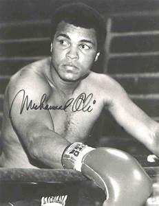 Legendary Boxing Champion Muhammad Ali...