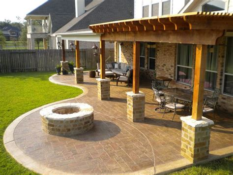 images  covered patios  pinterest outdoor patios fire pits  outdoor