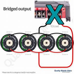Subwoofer Wiring Diagram Dual 1 Ohm