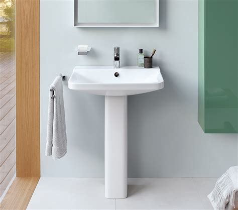 duravit p comforts mm  taphole washbasin mm