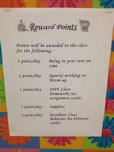 reward point system middle school rewards middle school