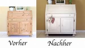 Vintage Möbel Weiss : diy sekret r mit acryllack einen vintage look verleihen ~ A.2002-acura-tl-radio.info Haus und Dekorationen
