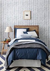 10 modeles de papiers peints inspirants pour votre chambre With tapis chambre bébé avec parfum si fleuri