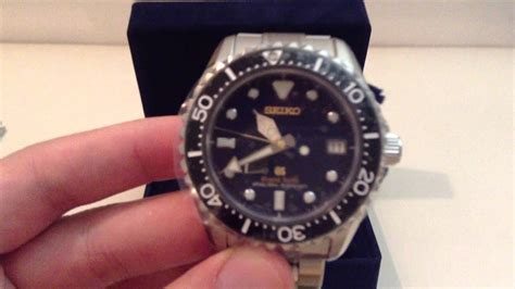 part  grand seiko divers limited edition unboxing