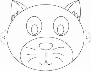 226 best chat images on pinterest kitty cats cat and 3d for Dog mask template for kids