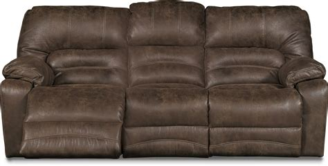 Chocolate Brown Microfiber Power Reclining Sofa Loveseat