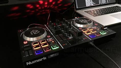 numark dj console numark mix dj console entry level con effetti luce