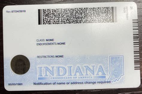 indiana  drivers license scannable fake id idviking