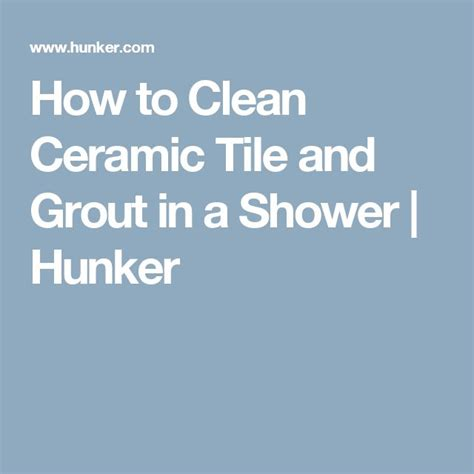 25 best ideas about cleaning ceramic tiles on