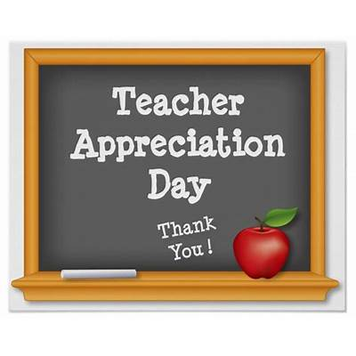 Donations and Volunteers Needed for Teacher Appreciation