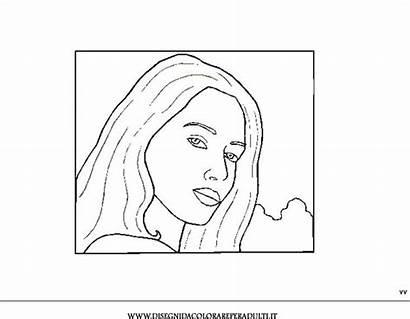 Disegni Coloring Teenagers Ragazze Ragazza Colorare Ritratti
