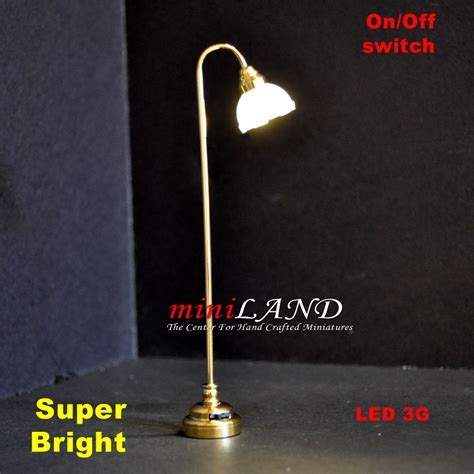 Bright Floor L Led fluted shade floor l led bright with on