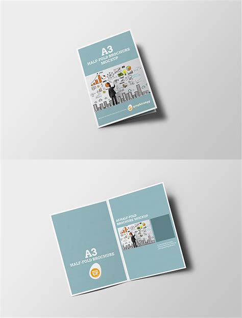 Half Fold Brochure Template Word 4 Best And Half Page Brochure Template Create Flyers Quarter P And