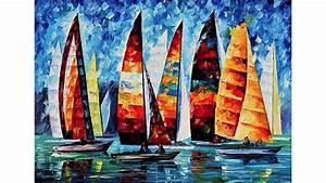 tableaux bateaux voiliers peintures sur toile deco With toile murale a peindre