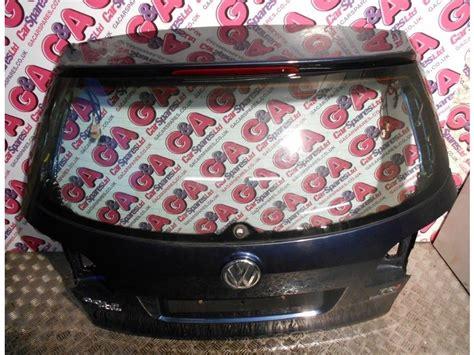 vw golf plus mk6 rear tailgate in blue metallic