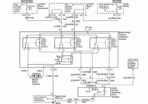 wiring diagram 2001 silverado ac the wiring diagram