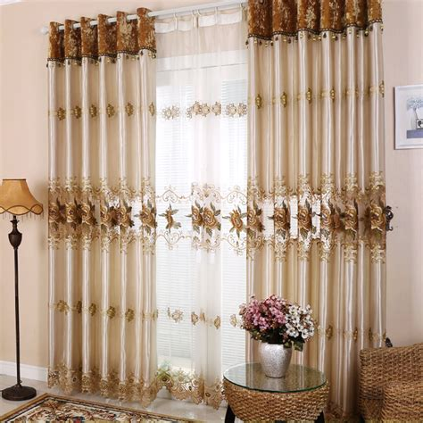 curtain customized high end european style moden