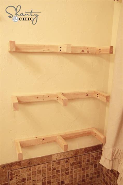 how to make a shelf easy diy floating shelves floating shelf tutorial