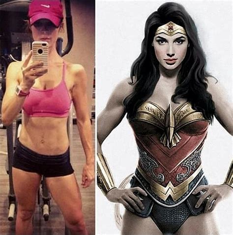 Gal Gadot Beefs Up Her Body To Fit The Role Of Wonder Woman Photos