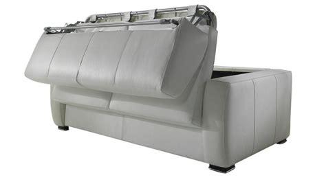 canap lit en cuir canapé lit en cuir 2 places couchage 120 cm tarif usine