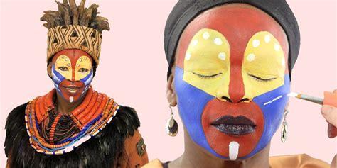 lion king makeup tutorial disneys  lion king  broadway