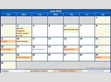 june 2019 calendar with holidays – printable weekly calendar