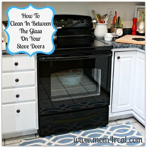 how to clean glass cooktop how to clean an oven door in between the glass 4 real