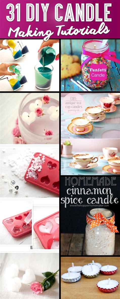 30 brilliant diy candle and decorating tutorials
