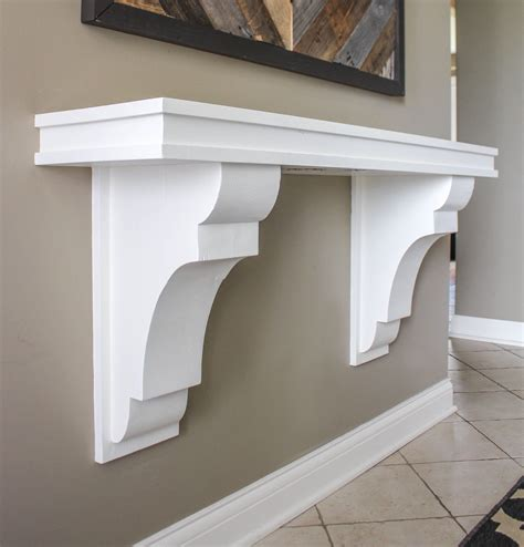 Images Of Corbels by Corbel Entryway Table Ruggy Diy